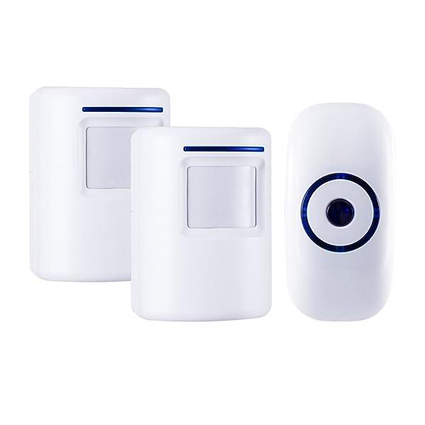 Home Security Motion Detector Alarm Wireless Driveway Alert Alarm