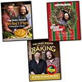 Si King & Dave Myers Si King & Dave Myers The Hairy bikers 3 Books Collection Set RRP: 60 (Big Book Of Baking, Perfect Pies, 12 Days Of Christmas)