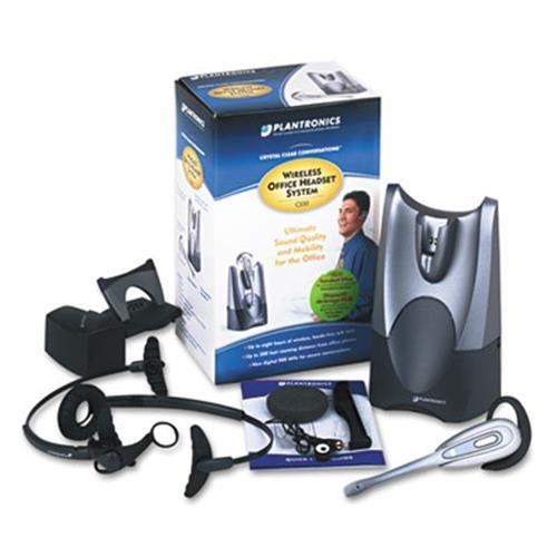 Plantronics Cs50Hl10 Hl10 Lifter Wireless Convertible Over-Ear/Head Cord Phone Headset