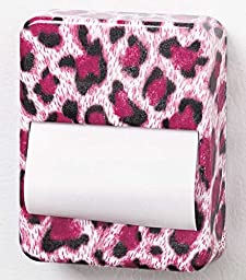 Magnetic Pop-Up Sticky Notes Dispensers (Leopard)