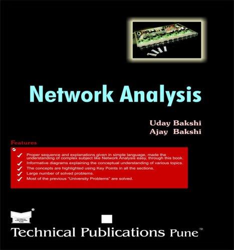 Network Analysis, by U.A.Bakshi, A.V.Bakshi