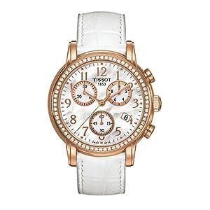 Tissot Damen-Armbanduhr Dressport Leder T0502173611201