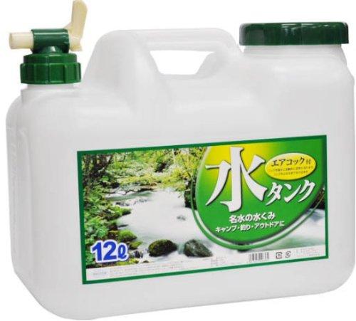 水缶 コック付 BUB 12L 水タンクの商品画像