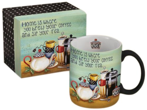 Coffee And Tea 14Oz Mug