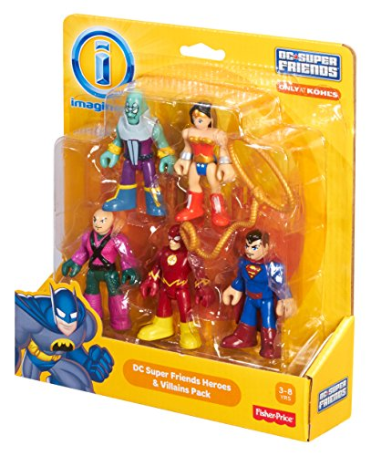 Fisher-Price BCV35 Imaginext Dc Super Friends and Villains Pack