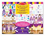 Melissa & Doug Dress-Up Reusable Sticker Pad Children, Kids, Game
