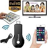 Micomy WeCast Ipush dongle Wifi Streaming to TV Wireless Display as Google Chromecast hdmi 1080p -Black