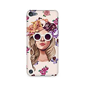 Mobicture Girl Abstract Premium Printed Case For Apple iPod Touch 5