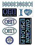 Omicron Epsilon Pi Sheet - Lifestyle Theme. 8.5