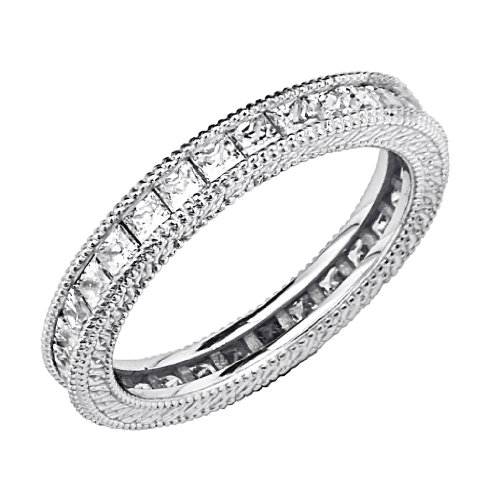 925-Sterling-Silver-Rhodium-Plated-Wedding-Eternity-Band