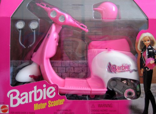 Barbie Motor Scooter (1997 Arcotoys, Mattel)