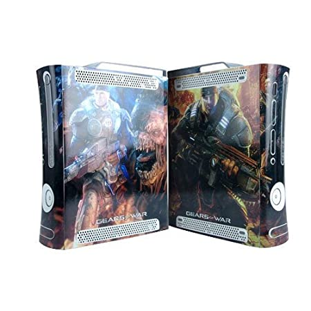 Gears of War Xbox 360 Protector Skin Decal Sticker, Item No. BOX0832-04