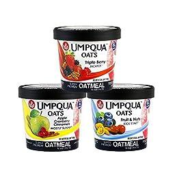Umpqua Oats Variety Pack Super Premium Oatmeal, 12-Count