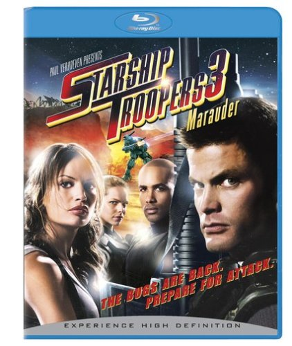Cover art for  Starship Troopers 3: Marauder (+ BD Live) [Blu-ray]