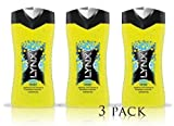 NEW 3 X LYNX RISE SHOWER GEL BODY WASH 250ml THREE AND SIX PACK