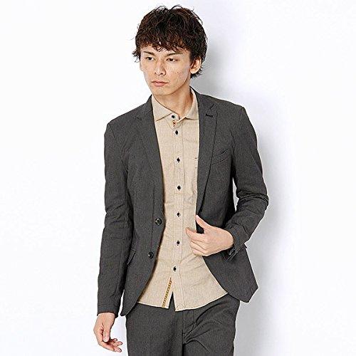 MKオム(MK homme) ジャケット(オックスストレッチジャケット)【93チャコールグレ-/46】