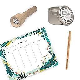 Calisea Green Desk Gift Box