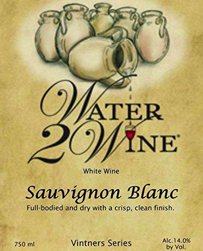 Nv Water 2 Wine Sauvignon Blanc 750 Ml
