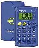 Truly CT200 Calculatrice de Poche 8 chiffres Bleu
