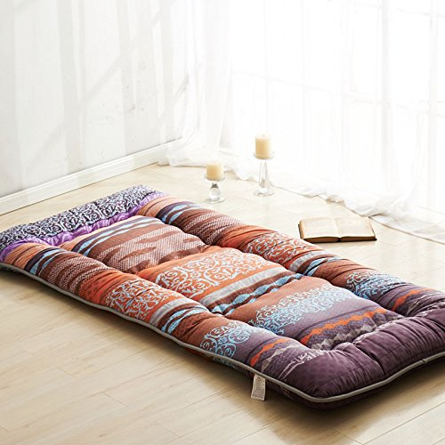 Fashion Colour Brown Futon Tatami Mat Japanese Futon