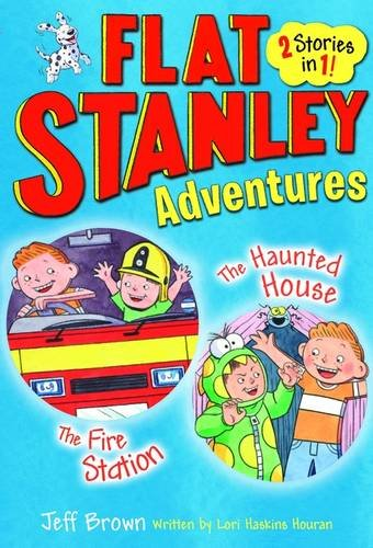 Flat Stanley Adventures: The Haunted House and The Fire Station (Banana Books)