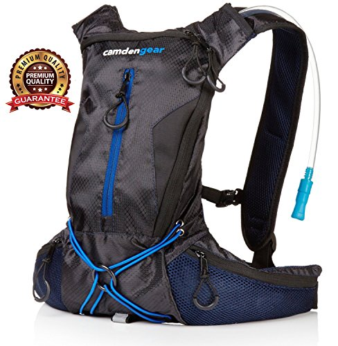 Hydration Pack with 1.5L Backpack Water Bladder. Fits