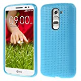 Heartly New Retro Dotted Design Hole Soft TPU Matte Bumper Back Case Cover For LG G2 Mini D618 Dual Sim - Power...