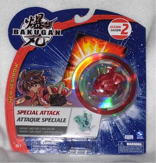 Special Attack Bakugan Red Boost Ingram