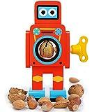 SUCK UK Robot Nut Cracker, Small Red