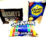 S'Mores Hershey's Chocolate Bars, Kraft Marshmallows & Honey Maid Graham Crackers