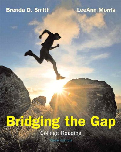 Bridging The Gap: College Reading (with MyReadingLab with Pearson eText Student Access Code Card) (10th Edition) (Pearson Custom Library English/The Mercury Reader)