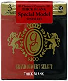 RICO リード グランドコンサートセレクト シックブランク Bbクラリネット 強度:3(10枚入) アンファイルド RCJ1030