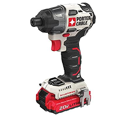 PORTER-CABLE PCCK647LB 20V MAX Brushless Cordless Impact Driver from PORTER-CABLE