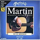 Martin M150 Medium Acoustic Guitar strings, Martin & Coby Martin
