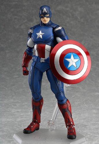 figma アベンジャーズ キャプテン・アメリカ (ノンスケール ABS&PVC 塗装済み可動フィギュア)