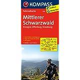 Mittlerer Schwarzwald - Kinzigtal - Offenburg - Strasbourg: Fahrradkarte. GPS-genau. 1:70000 (KOMPASS-Fahrradkarten Deutschland)