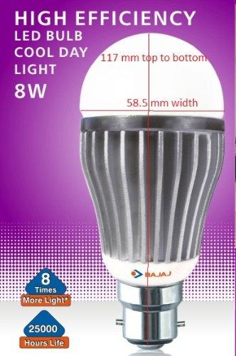 Bajaj-High-Effeciancy-8W-LED-Bulb-(Cool-White)