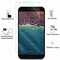 SAVVY(TM) Huawei Nexus 6P 2.5D Curved Edge 9H Hardness Toughened Tempered Glass Screen Guard Protector