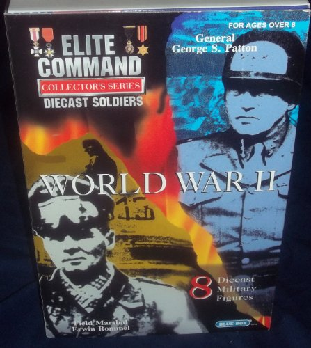 Buy Low Price Blue Box Elite Command Collector's Series Die-Cast Soldiers WORLD WAR II Military Figures (B004LKGRWK)