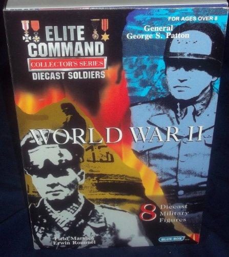 Buy Low Price Blue Box Elite Command Collector's Series Die-Cast Soldiers WORLD WAR II Military Figures (B004LKGRWK)