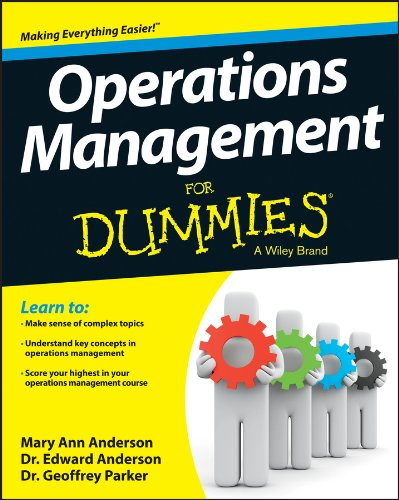 Operations Management For Dummies (Service Management Dummies compare prices)