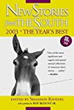 New Stories from the South 2003: The Years Best