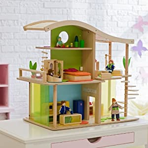 Bamboo Collection Sunshine Dollhouse by HaPe