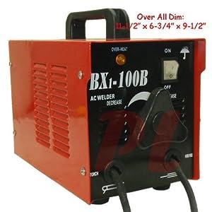 100 AMP ARC Welder Welding Soldering Machine Rod 110 Volt AC by Generic