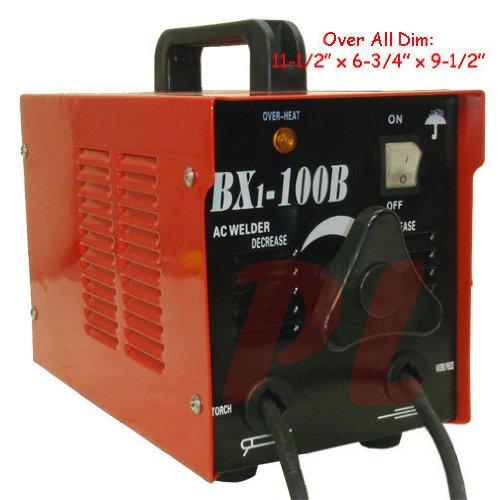 New 100 AMP ARC Welder Welding Soldering Machine Rod 110 Volt AC