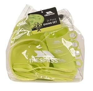 Trespass Snax Dining Set - Green