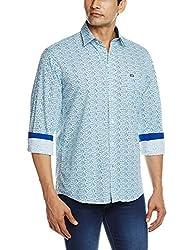 Arrow Sports Men's Casual Shirt (8907259808079_ASRS3028_39_Blue)