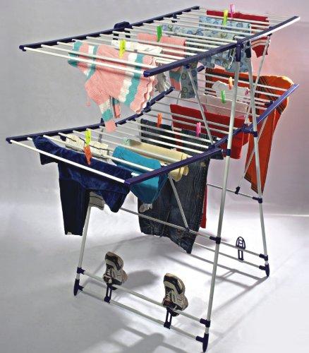 Cipla Plast Cloth Dryer Stand - Fling + Free 14 Pcs ...