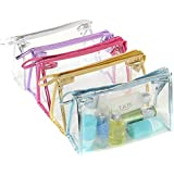 Sealike Waterproof Clear Transparent PVC Cosmetic Bag Organizer Makeup Bag Pouches Bag Tote Bag For Travel With...