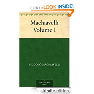 Logo for Machiavelli, Volume I